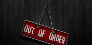 O que significa Out Of Order