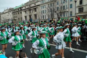 Desfile do dia de São Patrício