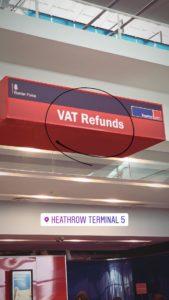 TAX FREE - VAT REFUND (LONDRES)