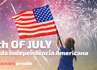 4th of July - Dia da Independência Americana
