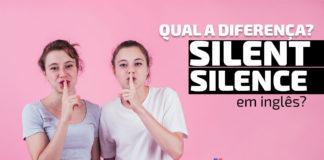 """Silence x Silent"" em inglês"